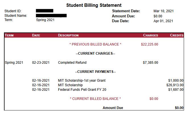 An example sfs bill.